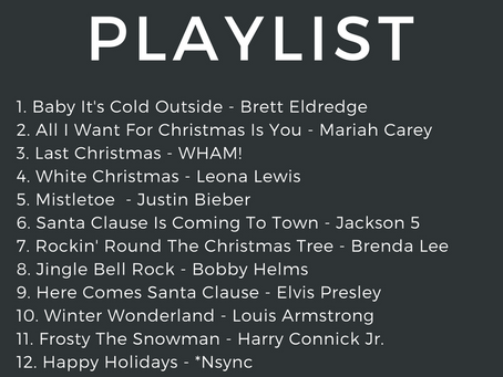 My Favorite Christmas Holiday Playlist