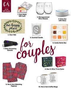 2018 Holiday Gift Guide for Couples - Cassandra Ann - 2018 Popular Blogger