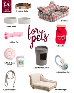 2018 Holiday Gift Guide for pets - Cassandra Ann - 2018 Popular Blogger