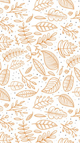 Fall Leaves Phone Background