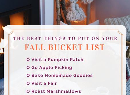 My Ultimate Fall Bucket List