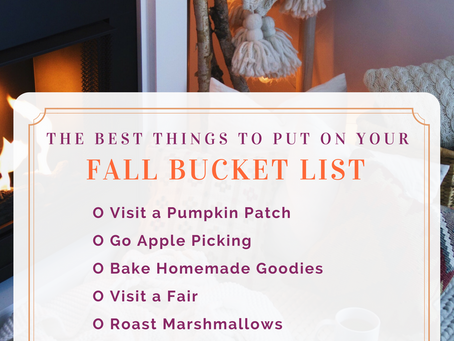 My Ultimate Fall Bucket List