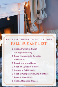 2017 Fall Bucket List - Lifestyle Blog - Blogger Bucket List - The Sweetest Thing Blog