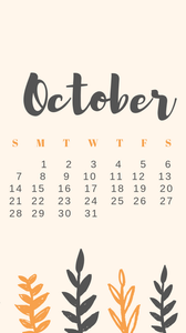Free Download: October Calendars & Wallpapers - Cassandra Ann Tech Downloads - free october wallpapers - october national holiday list - october desktop wallpaper