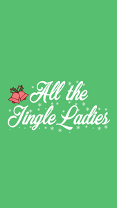 Holiday Phone Wallpapers - Christmas Backgrounds -- Christmas Phone backgrounds - winter phone backgrounds - cassandra ann - All the jingle ladies background