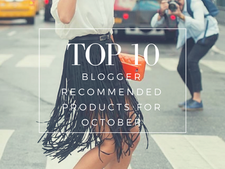 Top 10 Blogger Recommended Products