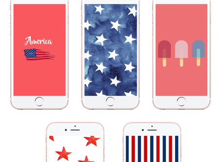American-Inspired Phone Wallpapers