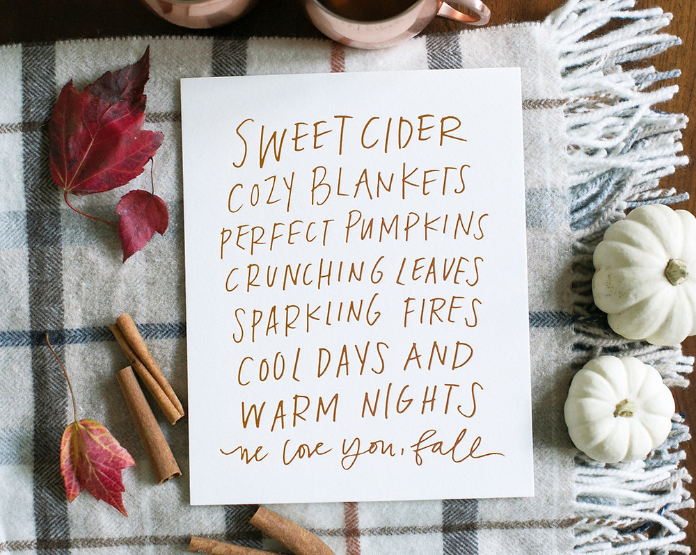 Fall Bucket List - Lifestyle Blog - Cassandra Ann - Blogger