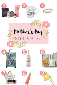 Mother's Day Gift Guide 2018 - Cassandra Ann - Gift Guide - Mom Gifts - Mom's Day - Thoughtful Gifts - Blog - Blogger - GOMI