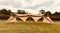 Shady Spot Double Lounge Tensile Canopy