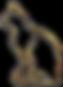29801144-cat-gold-3d-line-image-concept-