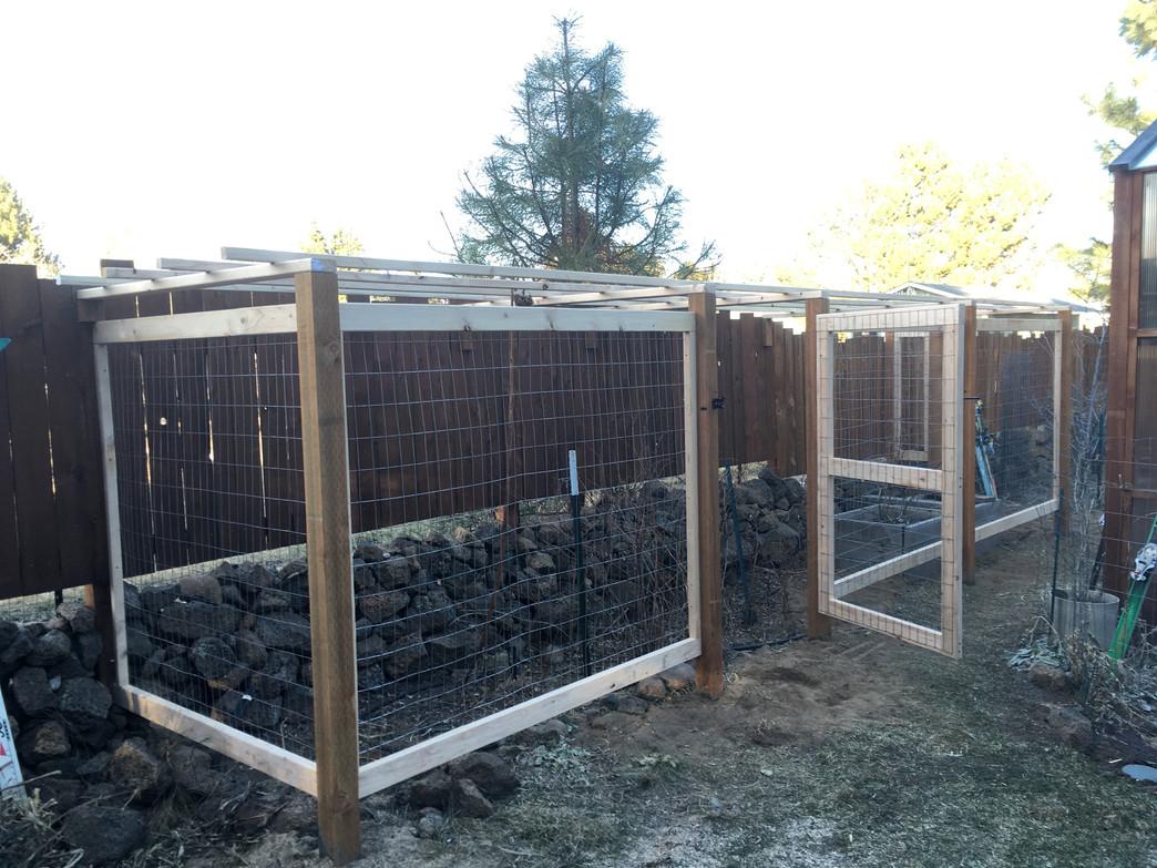 Custom Wire Grid Wood Enclosure