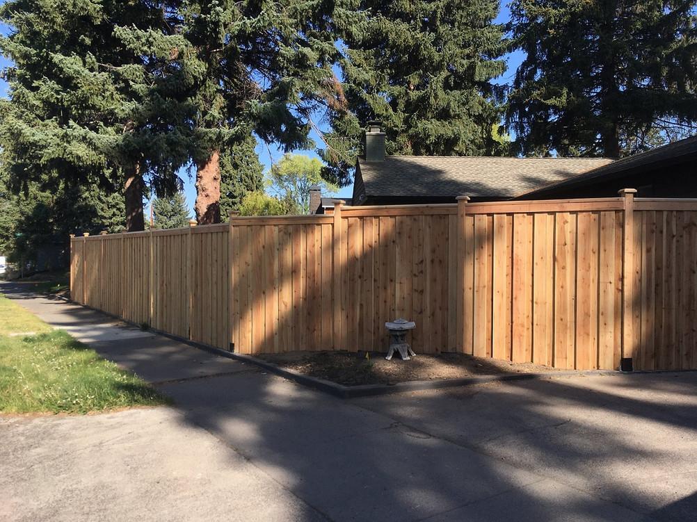 Overlap Fencing Bend _ Cedar & Stone