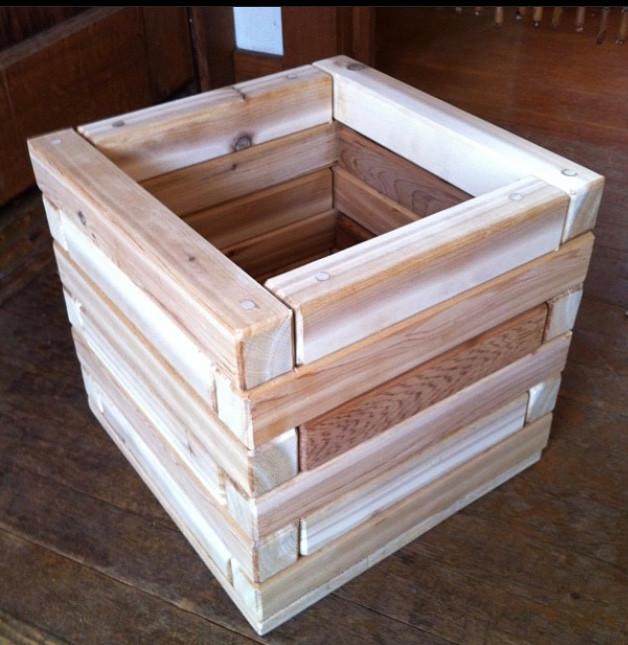 2x2 Cedar Planter