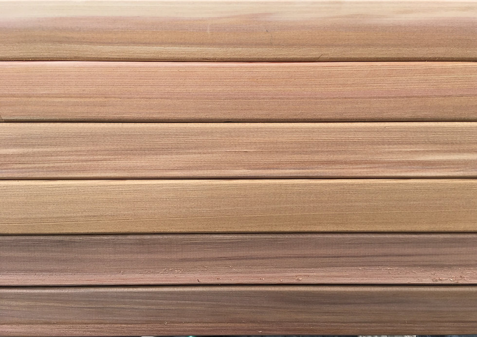 Western Red Cedar Color Palate_Cedar & S