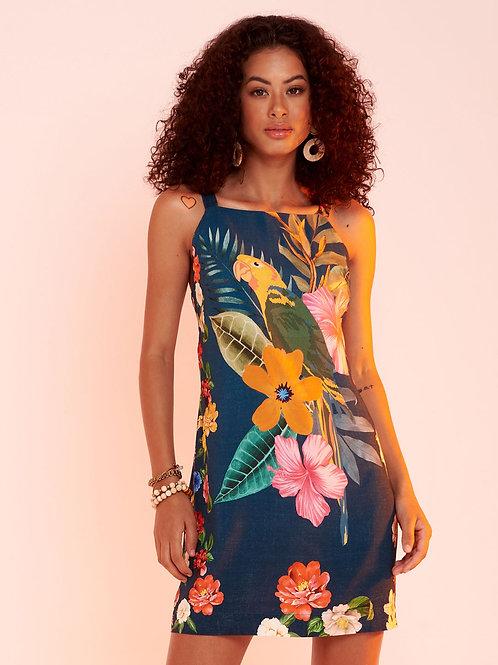 Vestido Curto Arara Flor