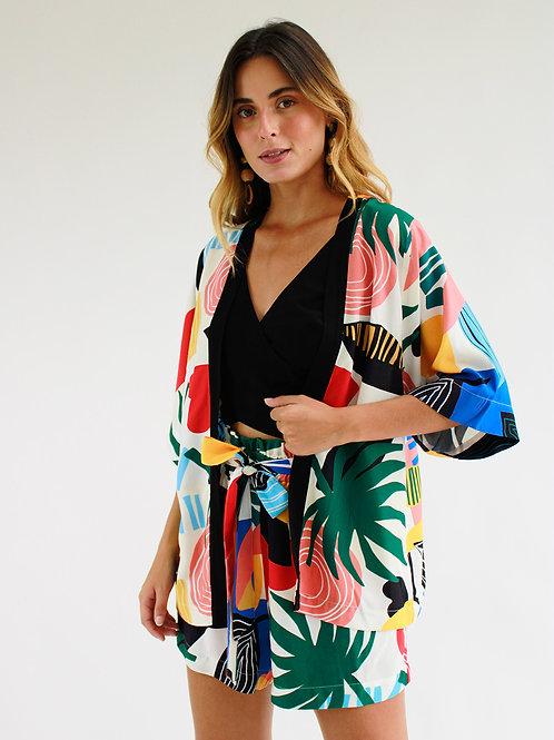 Kimono Caju Tropical