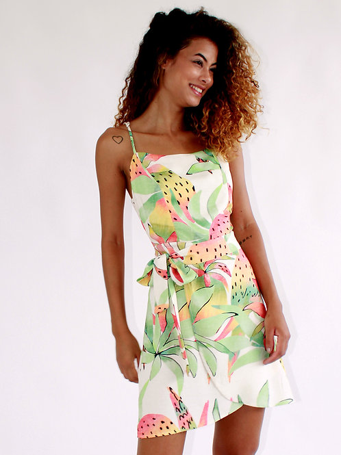 Vestido Curto Arara Tropical