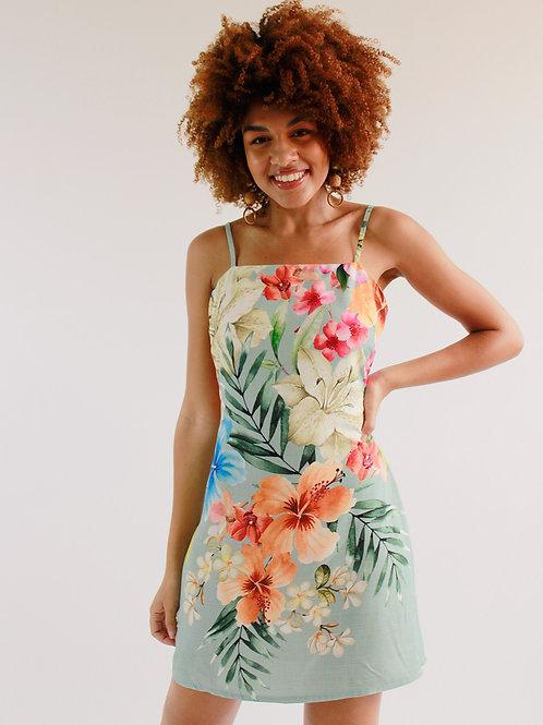 Vestido Curto Tropical