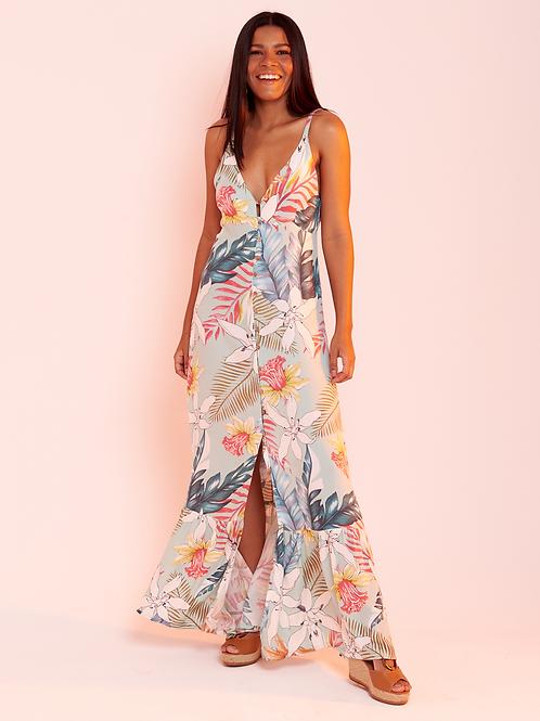 Vestido Cropped Flor de Lis