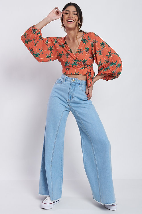 Calça Pantalona Juliete