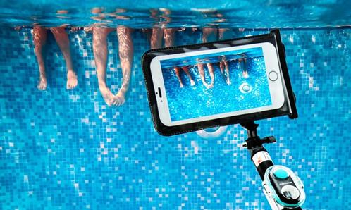 bluetooth waterproof selfie stick ebtessam mousa. Black Bedroom Furniture Sets. Home Design Ideas
