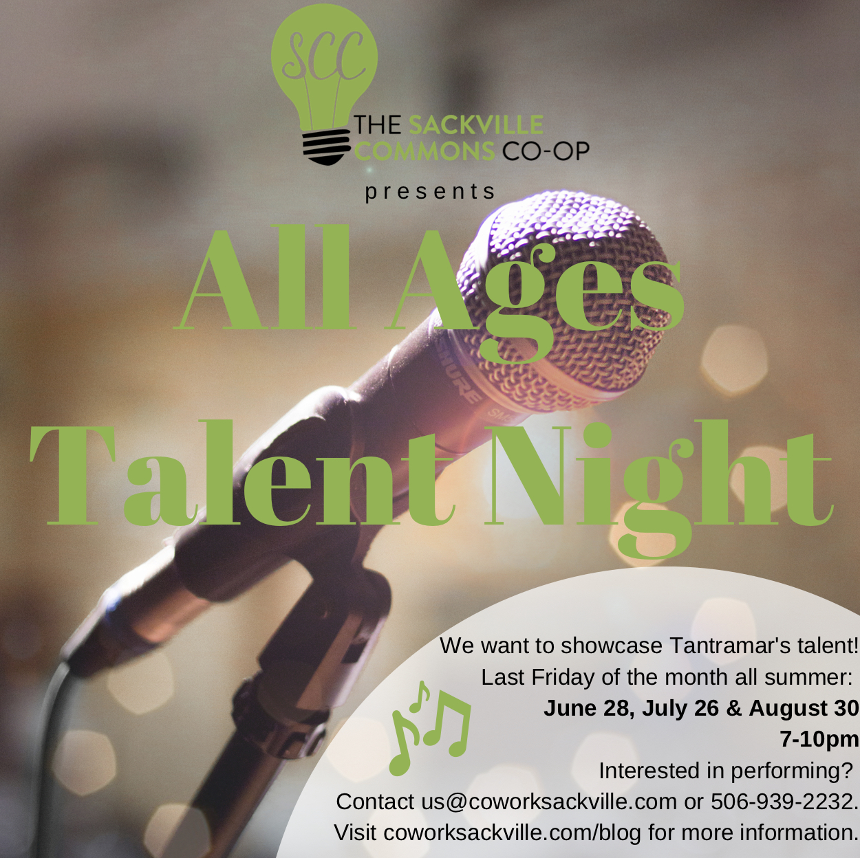 All Ages Talent Night