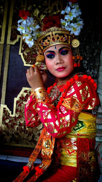 Singapore-Bali Interview with the Traditional Balinese Dancer