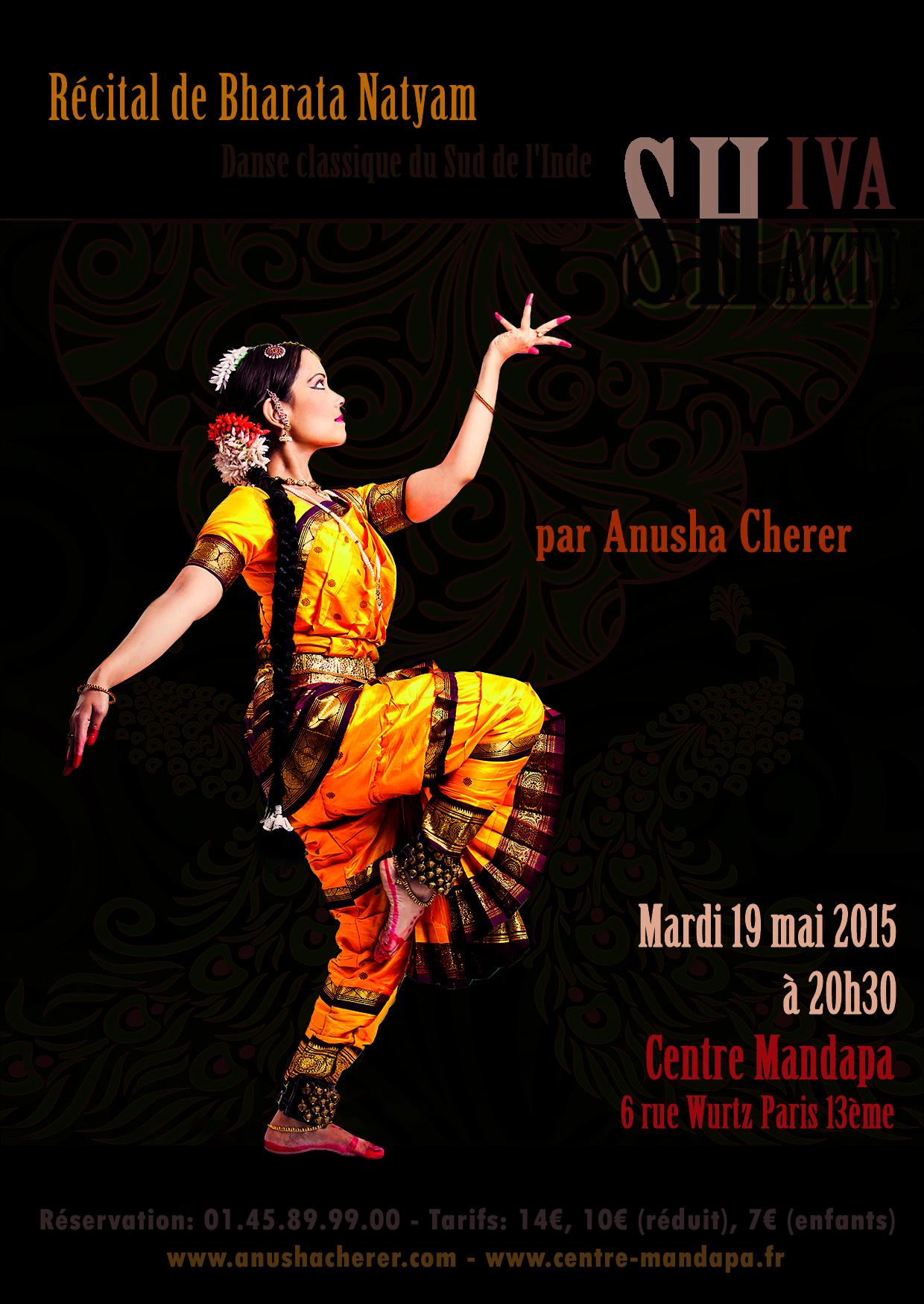 Anusha Cherer Récital