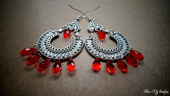 Boucles d'oreilles In the Moon