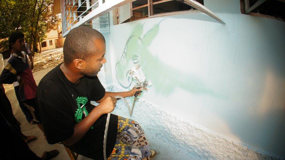 Ateliers fresque - India, Kolkatta