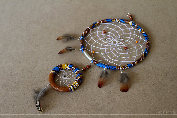 Dreamcatcher / Attrape-rêves - Plumes, Perles