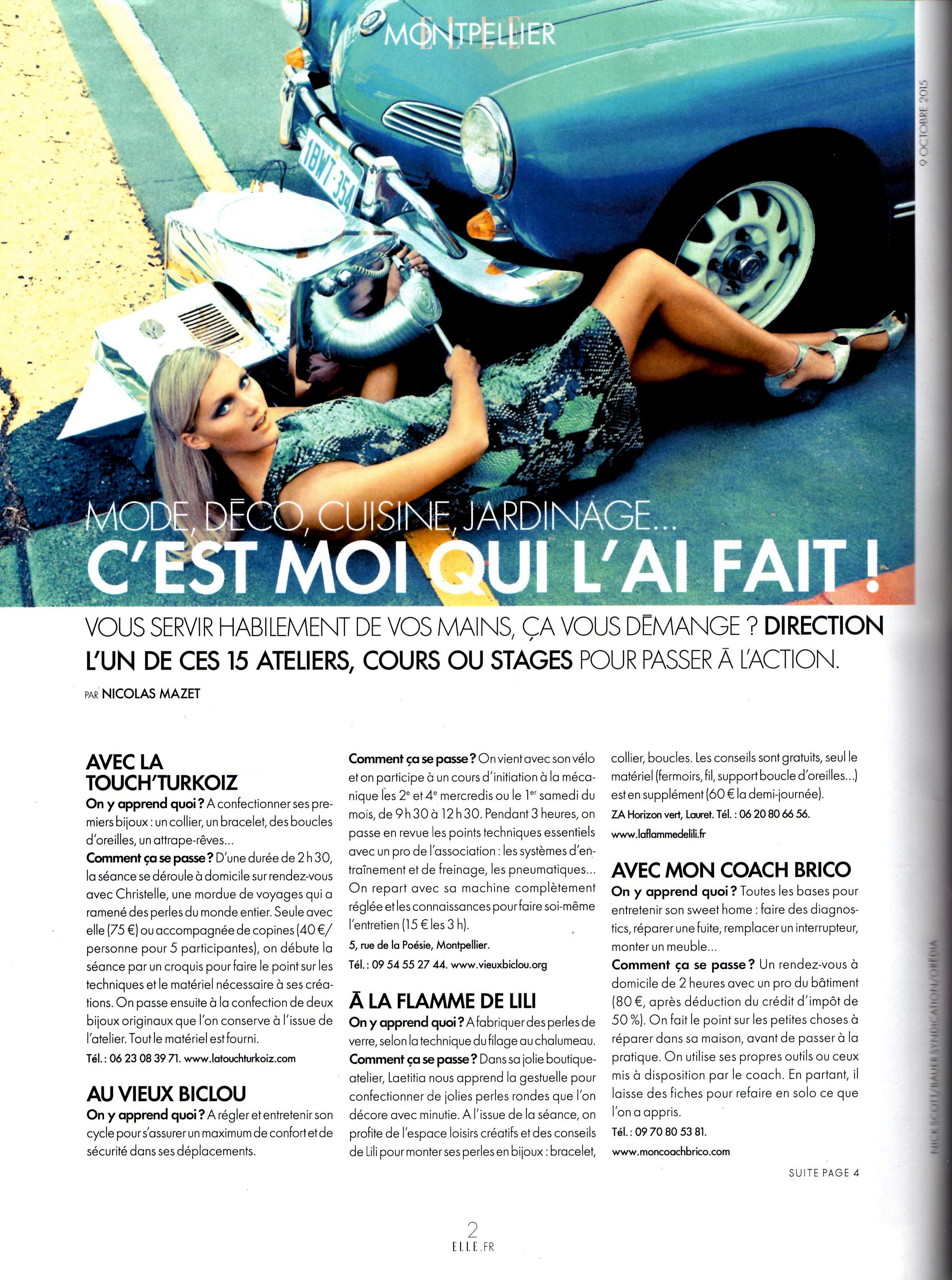 LaTouch' Turkoiz _Magazine ELLE