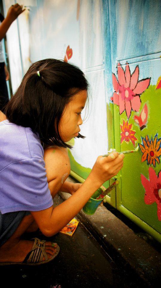 Fresque à Alouette Foundation