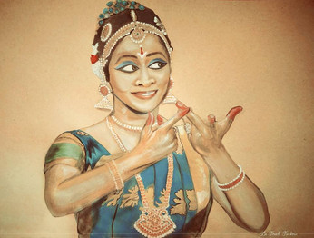 Watercolor Painting of Krithiga Ravichandran