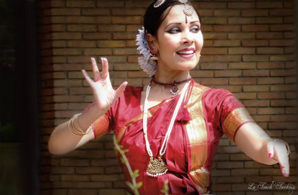 Anusha Cherer in Maison de l'Inde