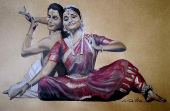 Painting of Renjith & Vijna