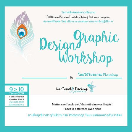 graphic design workshop Alliance Française de Chiang Rai