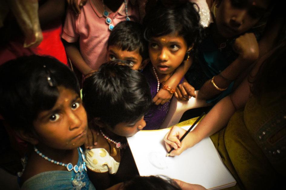 Atelier Dessin avec les enfants