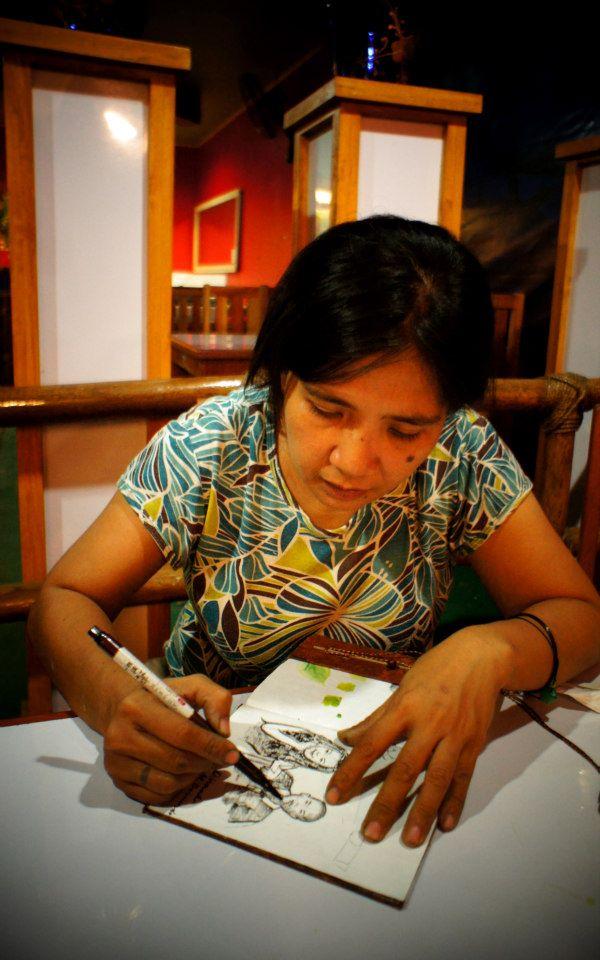 Rencontre avec Dinnah M. Bernardo