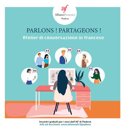 Ateliers de conversation à l'Alliance Française de Padova