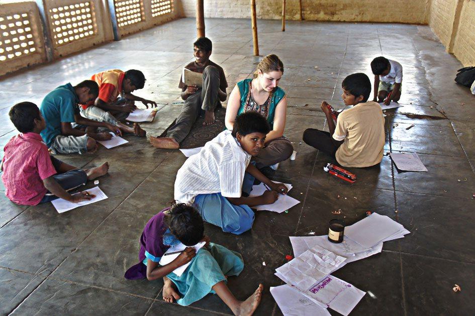 Atelier Dessin à DBAI, Chennai