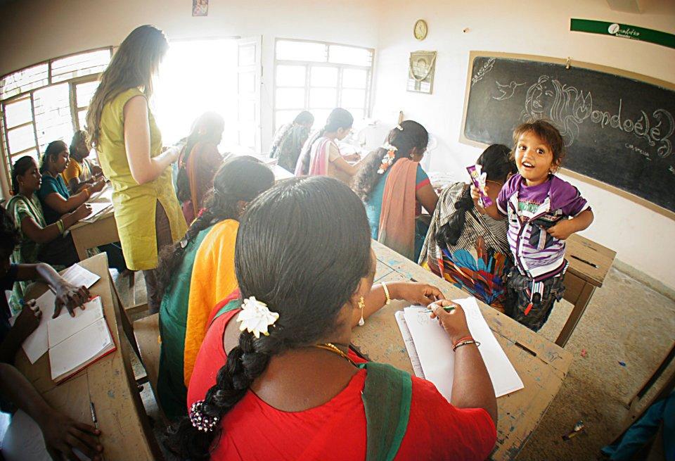 Atelier Dessin, Mondoélé à Chennai