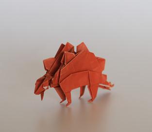Stegosaurus by John Montroll