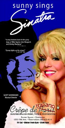 Sunny Sings Sinatra Seattle