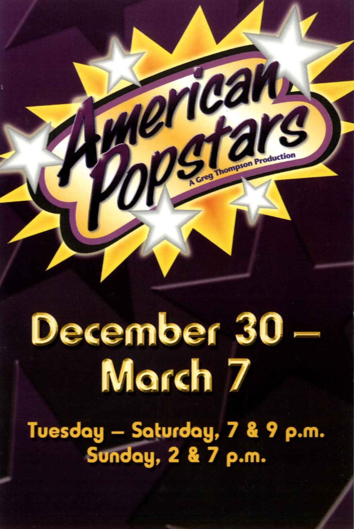 American Popstars