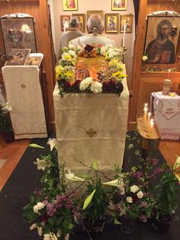 Bishop LONGIN tomorrow at St. George!!!
