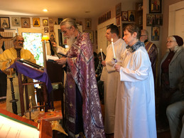 ...Thenthere was Lazarus Saturday, with two baptisms. Followed by a snowy Palm Sunday.