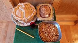 Slava Bread and Koliva