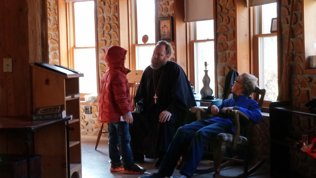 Fr Justin and kiddos